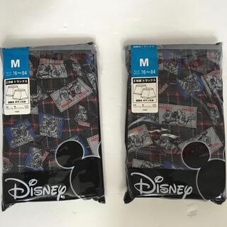 ディズニー(Disney)のメンズ  トランクス Mickey   Ⓜ️サイズ(トランクス)