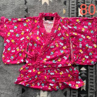 アースマジック(EARTHMAGIC)のEARTHMAGIC 浴衣 80 甚平 ワンピース(ワンピース)