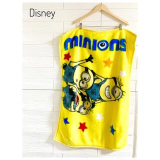ディズニー(Disney)のDisney ディズニー ブランケット 膝掛け ミニオン(毛布)