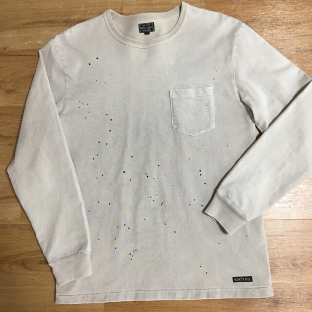 schott(ショット)の新品 SCHOTT ショット アンティーク ロングTシャツ L size メンズのトップス(Tシャツ/カットソー(七分/長袖))の商品写真