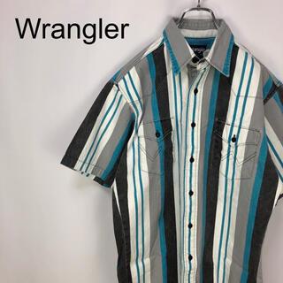 ラングラー(Wrangler)のラングラー☆マルチストライプ フラップポケット 半袖シャツ(シャツ)