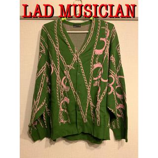 LAD MUSICIAN - LAD MUSICIAN 20ss チェーン柄 ニットカーディガン