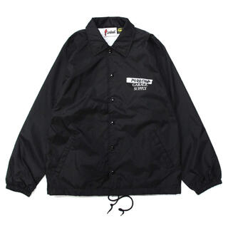 テンダーロイン(TENDERLOIN)の即完売品 ポークチョップ  BLACK コーチジャケット(ナイロンジャケット)