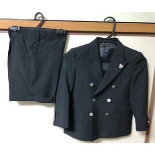 ヒロミチナカノ(HIROMICHI NAKANO)のhiromichi nakano キッズスーツ上下110 ブラック未使用 送料込(ドレス/フォーマル)