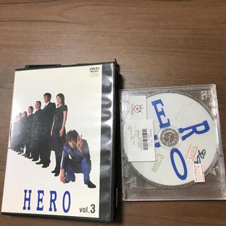 スマップ(SMAP)のHEROヒーロー第3巻DVDレンタル落ドラマ木村拓哉 松たか子 阿部寛 5話6話(TVドラマ)