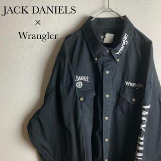 ラングラー(Wrangler)のUS ビンテージ 古着 ラングラー ジャックダニエル コラボ ワーク シャツ(シャツ)
