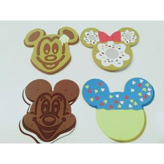 ディズニー(Disney)のDisny ディズニー コースター 4枚SET テーブル用品(テーブル用品)