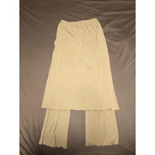 シマムラ(しまむら)のスカートレイヤードパンツ (その他)