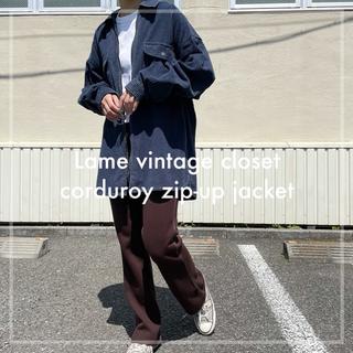 サンタモニカ(Santa Monica)の90s 古着 コーデュロイシャツ ジャケット 太畝 ユニセックス ビンテージ(ブルゾン)