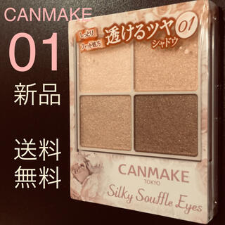 CANMAKE - 新品【CANMAKE】キャンメイク シルキースフレアイズ[01]