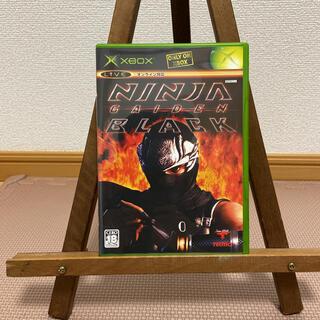 エックスボックス(Xbox)のニンジャガイデンBLACK(家庭用ゲームソフト)