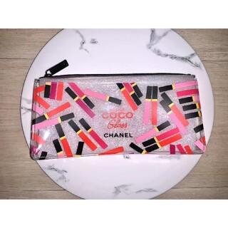 CHANEL - 新品 シャネル CHANEL クリアポーチ 化粧ポーチ ペンケース