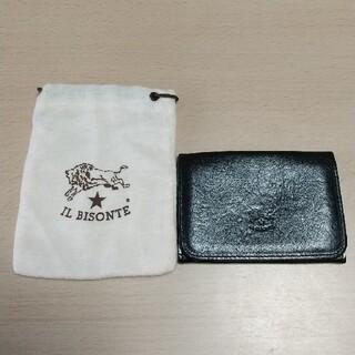 IL BISONTE - イルビゾンテ 名刺入れ 本革 ブラック