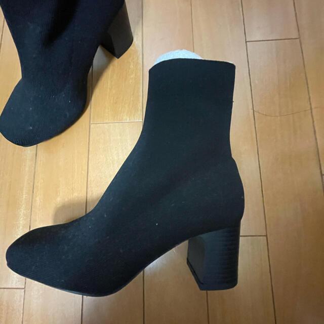 GU(ジーユー)のストレッチブーツ レディースの靴/シューズ(ブーツ)の商品写真
