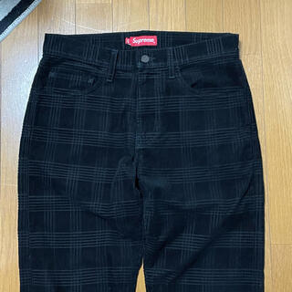 Supreme - Supreme Plaid Cord 5-Pocket Pant