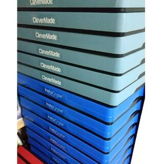 コストコ(コストコ)のコストココンテナボックス 46L 6個 収納ケース 整理整頓 折り畳み(ケース/ボックス)