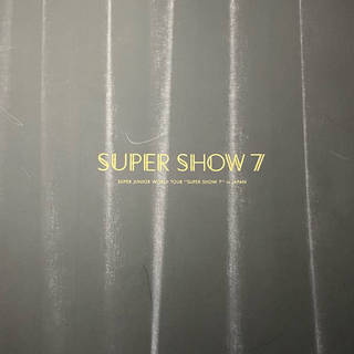 SUPER JUNIOR - 【SuperJunior】スパショ7 サイン入りツアーパンフレット