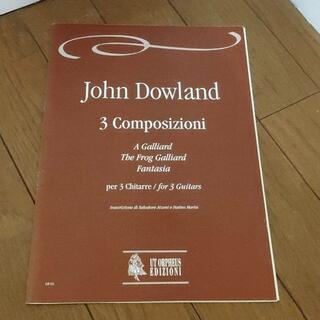 ジョン・ダウランド 3つのギターのための3つの作曲(チェロ)
