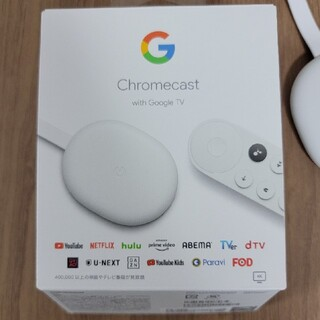 Google - Chromecast with Google TV 中古美品