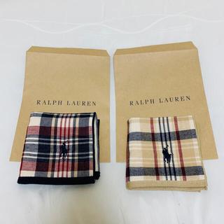 POLO RALPH LAUREN - ラルフローレン ハンカチ 2枚セット