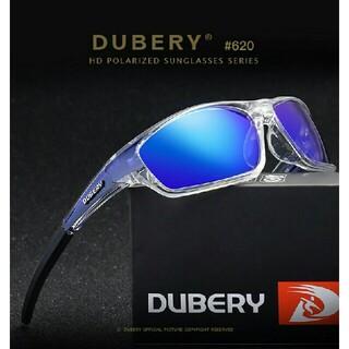 【スポーツ用】DUBERY軽量偏光サングラス ブルー オークリー・タレックス型(サングラス/メガネ)