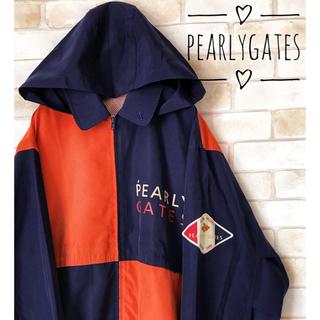 PEARLY GATES - 古着美品PEARLYGATESナイロンジャケットパーカーM