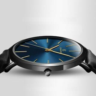 薄型軽量アナログウォッチ 青 メンズ 腕時計 ベーリング・スカーゲン型(腕時計(アナログ))