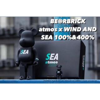 メディコムトイ(MEDICOM TOY)のBE@RBRICK atmos x WIND AND SEA 100%&400%(その他)