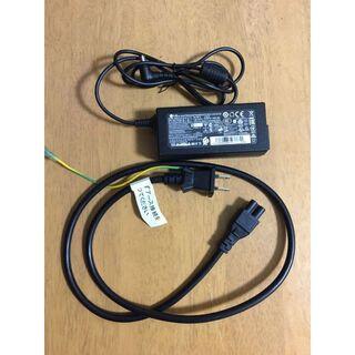 エルジーエレクトロニクス(LG Electronics)のLG ウルトラワイドモニター(2560×1080)の純正電源ケーブル(PC周辺機器)