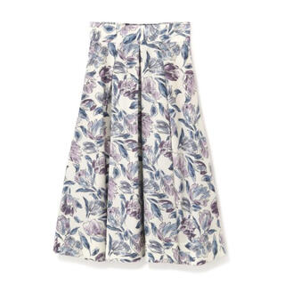 JILL by JILLSTUART - 【ななな様専用】2021年S/S アートフラワープリントスカート