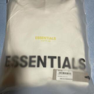 エッセンシャル(Essential)のESSENTIALS ホワイト プルオーバー フーディ パーカー エッセンシャル(パーカー)