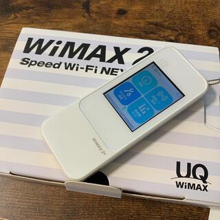 ファーウェイ(HUAWEI)のUQ WiMAX2+ W04 モバイルルーター 中古品(PC周辺機器)