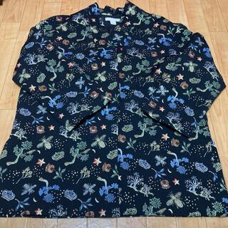 エイチアンドエム(H&M)の【H&M】エイチ&エム/刺繍コート(スプリングコート)