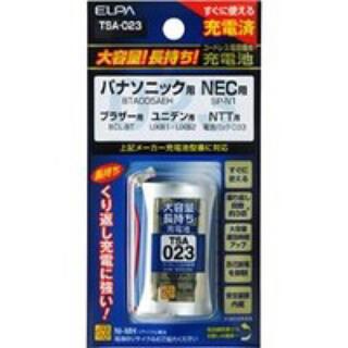 エルパ(ELPA)のELPA エルパ 電話機用充電池 TSA023(バッテリー/充電器)