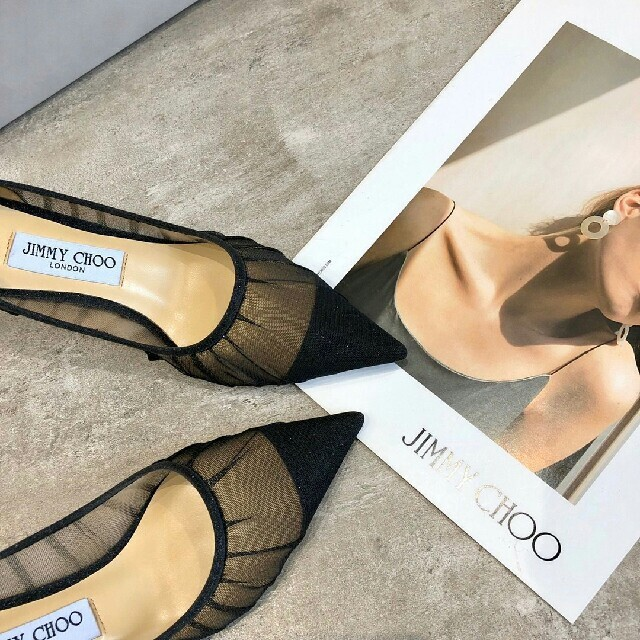 JIMMY CHOO(ジミーチュウ)の値下げ美品☆Jimmy Choo☆ハイヒール/パンプス レディースの靴/シューズ(ハイヒール/パンプス)の商品写真