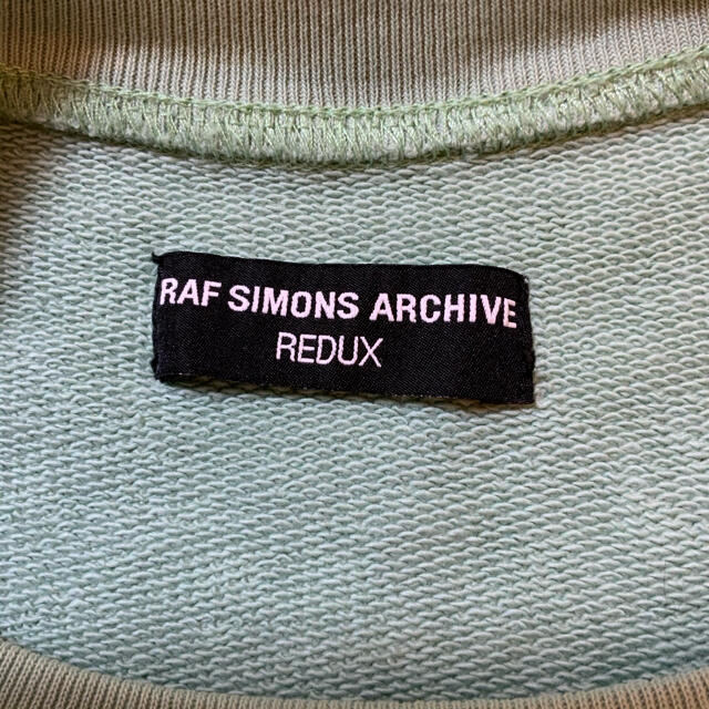 RAF SIMONS(ラフシモンズ)のRAF SIMONS NEBRASKA PRINT サイズ2 メンズのトップス(スウェット)の商品写真