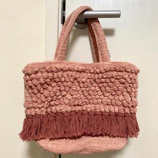 ALEXIA STAM - ALEXIA STAM Fringe Tassel Woven Tote Bag