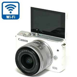 Canon - 【Canon】Wi-Fi搭載★高画質!ミラーレス一眼☆EOS M10レンズキット
