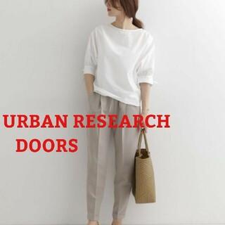 DOORS / URBAN RESEARCH - アーバンリサーチドアーズ リボンスリーブブラウス