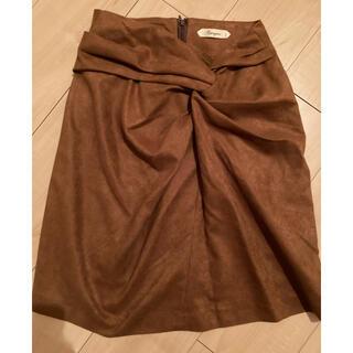 新品★未使用★infinity espeyrac  ねじれデザイン スカート