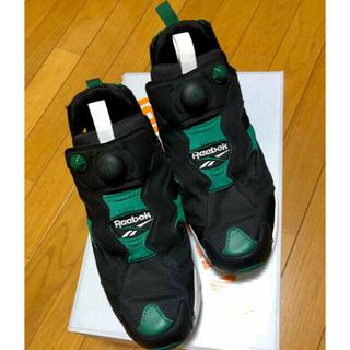 リーボック(Reebok)のリーボック ポンプフューリー legacy pack 黒×緑(スニーカー)