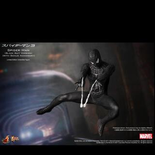 master-piece - ホットトイズ ブラックスパイダーマン hottoys