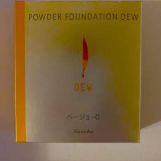 デュウ(DEW)のカネボウ DEW パウダーファンデーションデュウ ベージュC レフィル (ファンデーション)