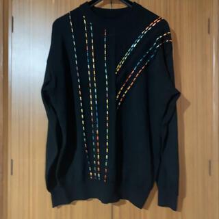 RAF SIMONS - Rainbow sewing sweater ニット セーター