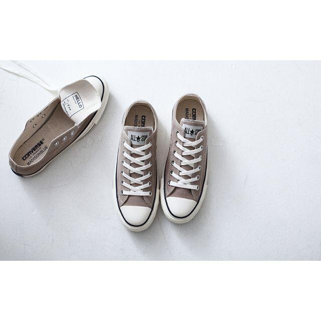 IENA(イエナ)の【CONVERSE×MADISONBLUE×IENA 】ALLSTAR 24.5 レディースの靴/シューズ(スニーカー)の商品写真