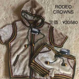 ロデオクラウンズ(RODEO CROWNS)の新品 ロデオクラウンズ   上下セット 半袖(セット/コーデ)