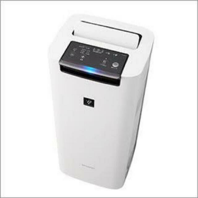 SHARP(シャープ)のSHARP KI-JS40-W 新品未開封品 スマホ/家電/カメラの生活家電(空気清浄器)の商品写真