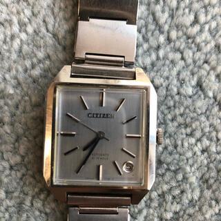 シチズン(CITIZEN)のレア シチズン自動巻オートデイト1960年代動作確認済 送料込(腕時計(アナログ))