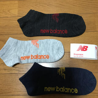 New Balance - ニューバランス☆スニーカーソックス//25〜27センチ