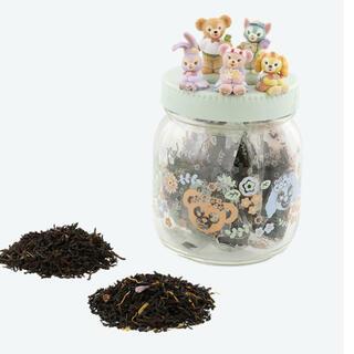 ディズニー ダッフィー スプリングインブルーム 紅茶 瓶(菓子/デザート)